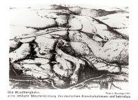 Historische Postkarte Relief Windbergbahn