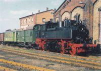 Postkarte Zugformation Windbergbahn